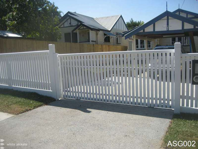 Electric Sliding Fence Gates Pictures To Pin On Pinterest