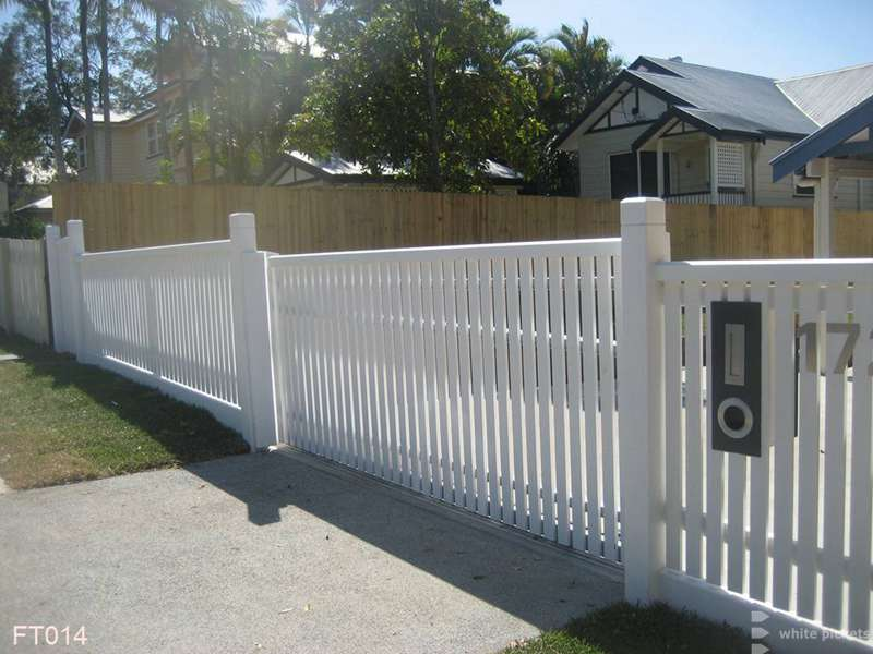 Picket Fences Brisbane White Pickets